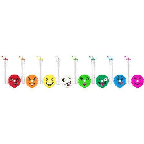Emoji Lid Yard Cups 20 Oz 600 Ml 54 Cups Per Box