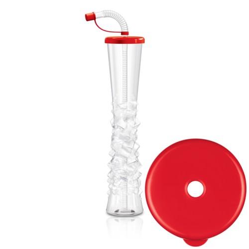 Plain Lid Yard Cups -17 oz /500 ml (54 cups per box)